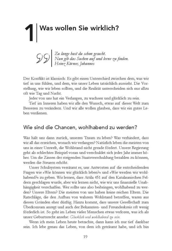 Der Weg zur Finanziellen Freiheit Bodo Schäfer Buch Leseprobe 2