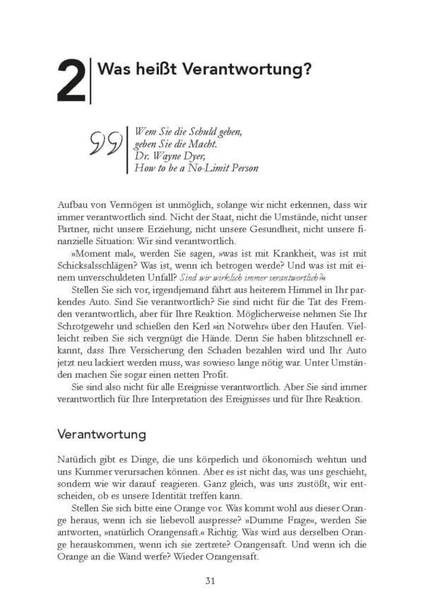 Der Weg zur Finanziellen Freiheit Bodo Schäfer Buch Leseprobe 4