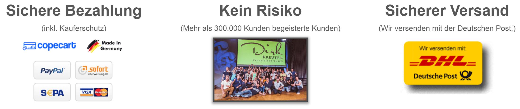 Dirk Kreuter Buch Entscheidung Erfolg Bestellung