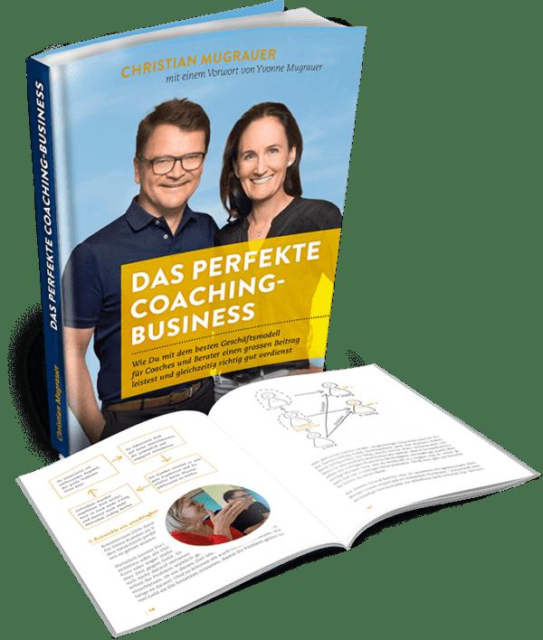 Das perfekte Coaching Business Cover Seite