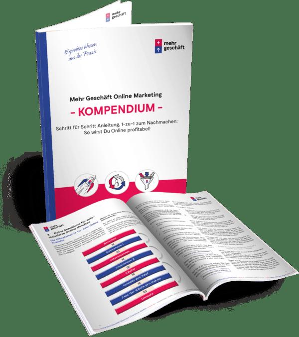 Online Marketing Kompendium Buch Mehr Geschäft Pascal Feyh Jeremy Feyh