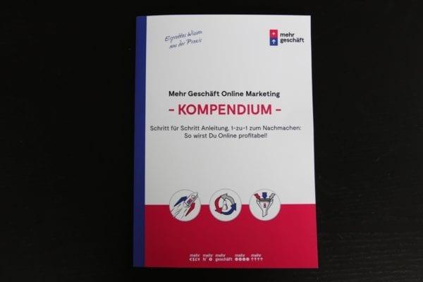 Online Marketing Kompendium Buch Mehr Geschäft Buch