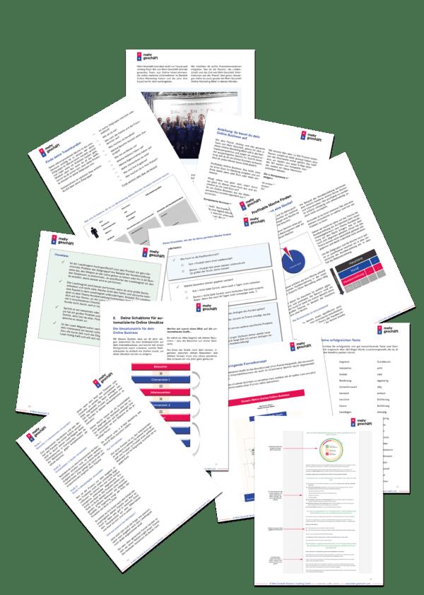 Online Marketing Kompendium Buch Mehr Geschäft Seiten