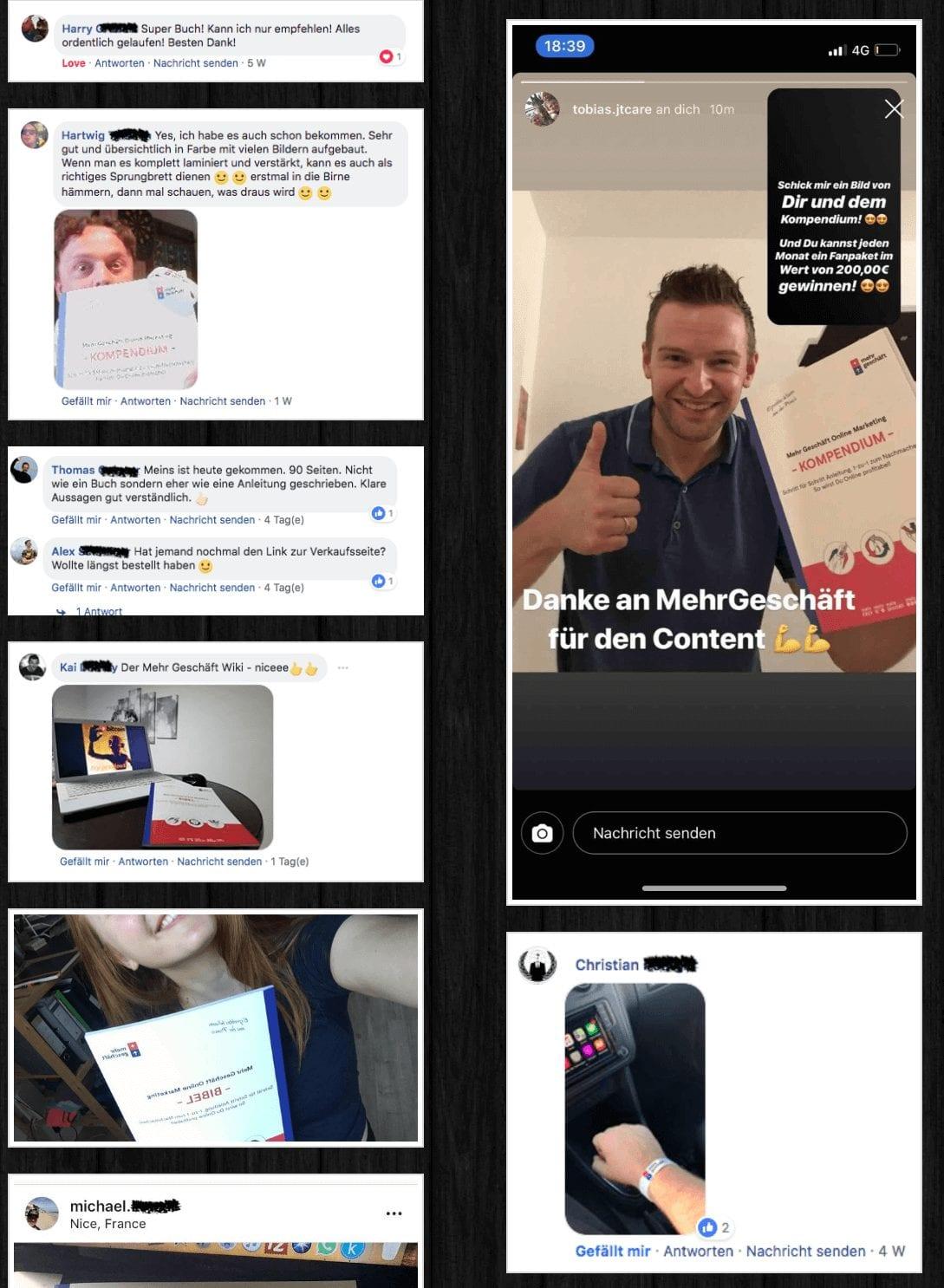 Online Marketing Kompendium Buch Erfahrungen Mehr Geschäft