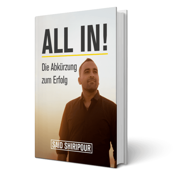 Said Shiripour Buch All In Cover
