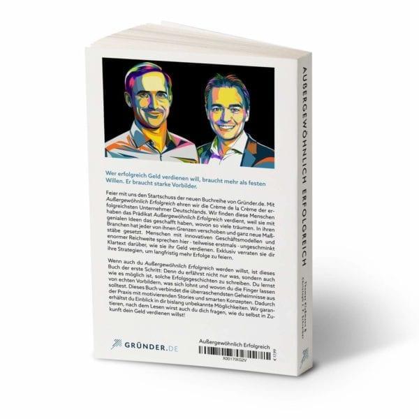 Außergeöhnlich Erfolgreich Buch Rückseite